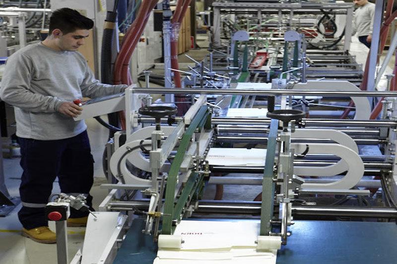 Tragetaschen Produktion