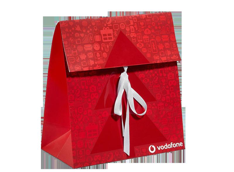 Geschenkverschluss - exklusive Papiertragetaschen
