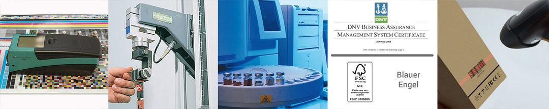 Qualitätsprüfung & Zertifizierungen